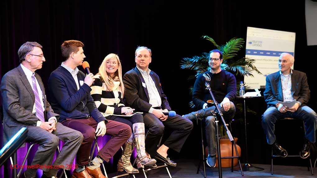 I shot this Atlanta podcasting panel discussion during a live event.