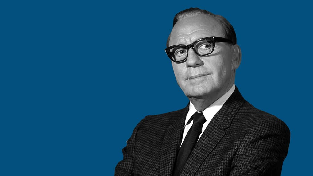 If you like funny advertising, you have Jack Benny to thank for it.