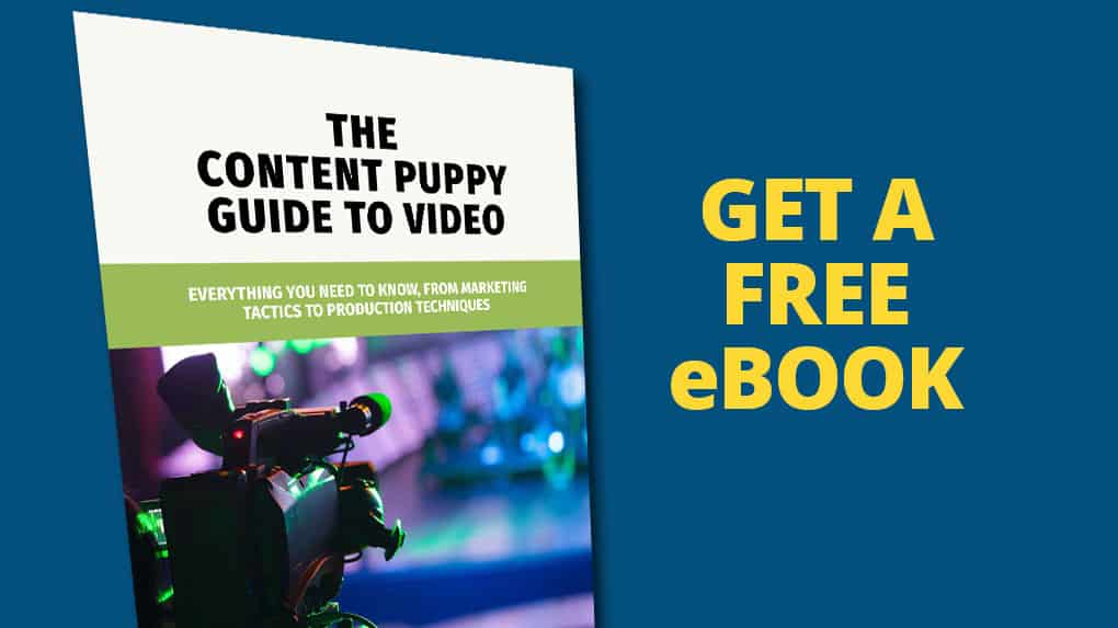 Get a free video marketing ebook when you join our mailing list