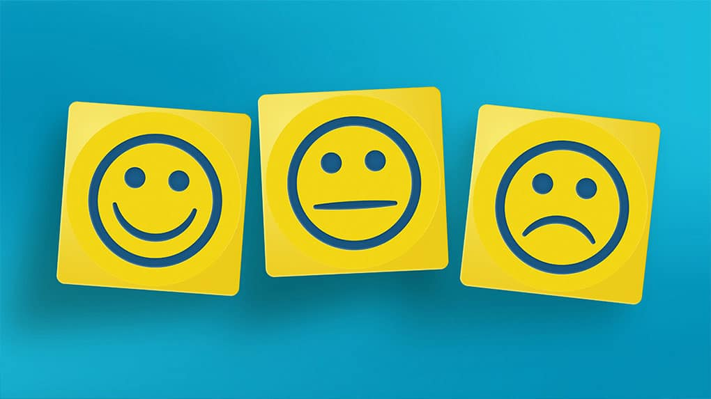 Happy and Sad are only two of the emotions your video might activate.